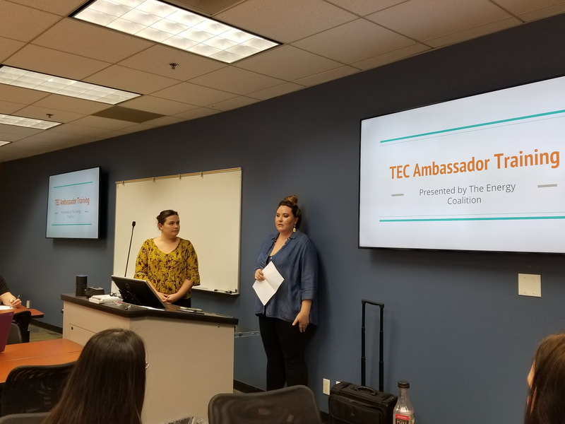 Presenters at TEC Ambassador Training
