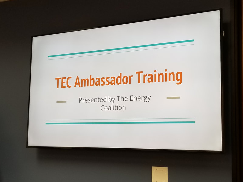 TEC Ambassador Training Slide