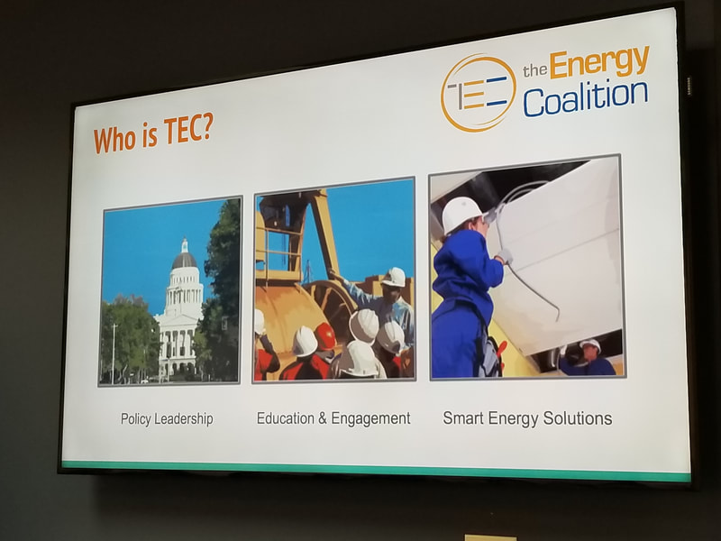 Who is TEC slide?